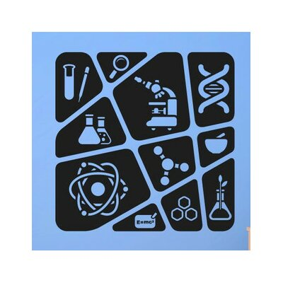 Cut It Out Wall Stickers Kids Science Collage Wall Sticker