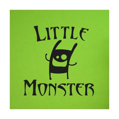 Cut It Out Wall Stickers Little Monster Wall Sticker