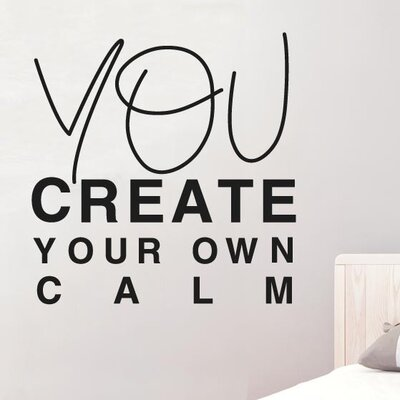 Cut It Out Wall Stickers You Create Your Own Calm Wall Sticker