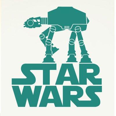 Cut It Out Wall Stickers Star Wars Walker Wall Sticker