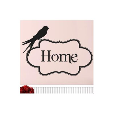 Cut It Out Wall Stickers Home With Cute Bird Wall Sticker