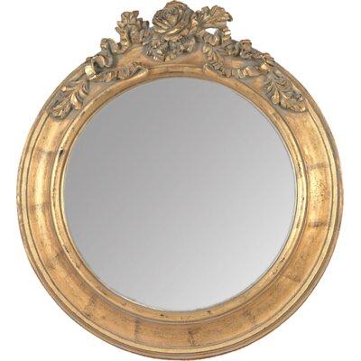 EMDÉ Shabby Elegance Elegance Roses Round Mirror