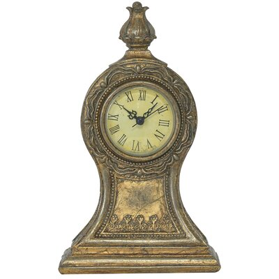 EMDÉ Time To Baroque Table Clock