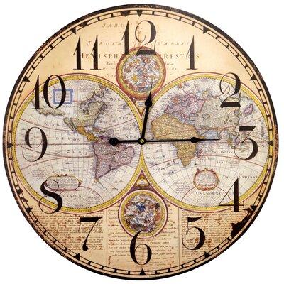 Borough Wharf Oversized 58 cm Wall Clock