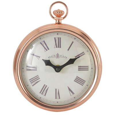 EMDÉ Classy and Feminine 18 cm Fob Wall Clock