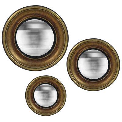 EMDÉ We Need Sun 3 Piece Antic Convex Mirror Set
