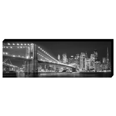 EMDÉ Sequined Brooklyn Photographic Print on Canvas