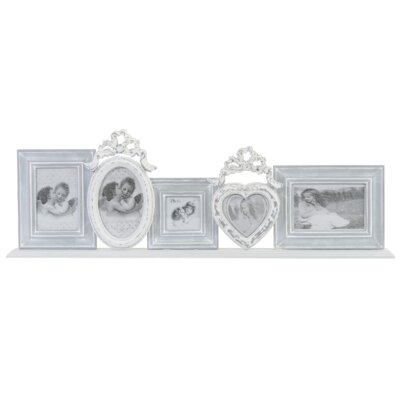 EMDÉ Sylvery 5 Piece Picture Frame Set