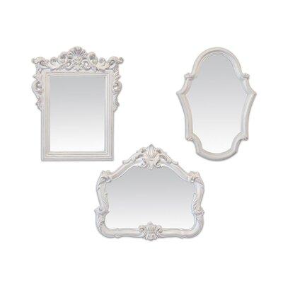 EMDÉ Pure Baroque 3 Piece Mirror Set