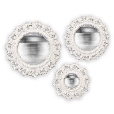 EMDÉ 3 Piece Twist Convex Mirror Set