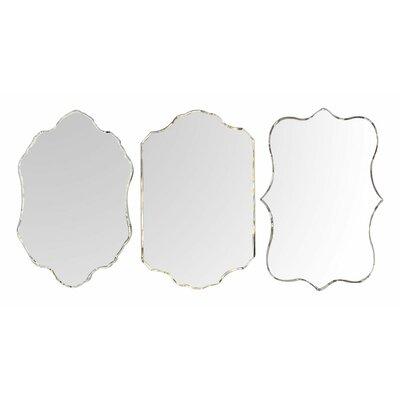 EMDÉ Smart But Natural 3 Piece Venetian Mirror Set