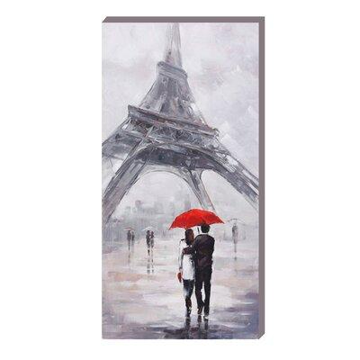 EMDÉ Paris Eiffel Art Print on Canvas