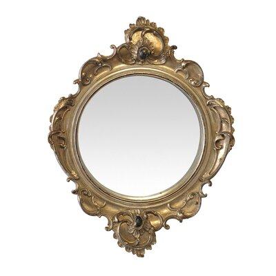 EMDÉ Ornate Round Mirror