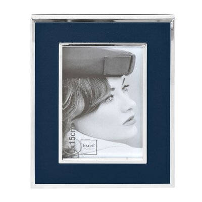 EMDÉ Smart But Natural Leather Picture Frame
