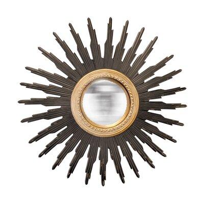 EMDÉ We Need Sun Convex Sunburst Mirror