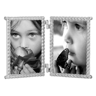 EMDÉ New Riad Twist Double Picture Frame