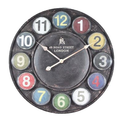 EMDÉ Time To Oversized 60cm Pasti Wall Clock