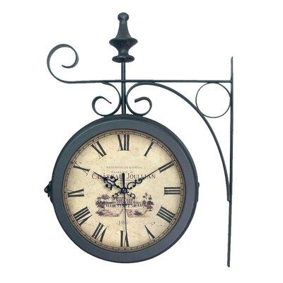 EMDÉ Shabby Elegance Double Station Clock