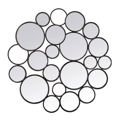 EMDÉ Bubbles Design Wall Mirror