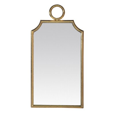 EMDÉ Ring Metal Wall Mirror