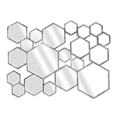 EMDÉ New Riad Multiple Hexa Lea Mirror