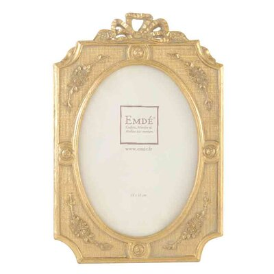 EMDÉ Shabby Elegance Bow Decorative Picture Frame