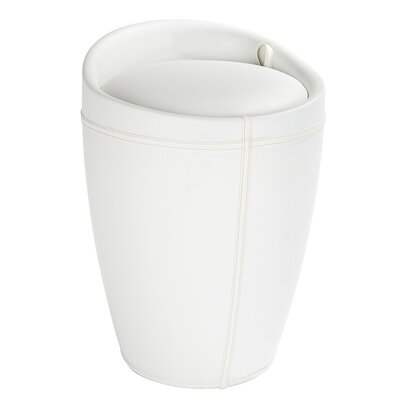 Accent Stool Color: White