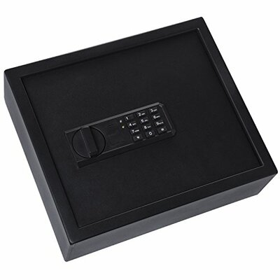"Ivation Keypad Digital Home Security Safe with Electronic Lock Size: 11.81"" H x 13.78"" W x 4.37"" D"
