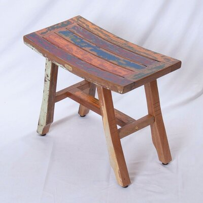 Ship2Shape Satori Salvaged Boat Wood Bench