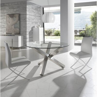 Angel Cerda Dining Table and 2 Chairs