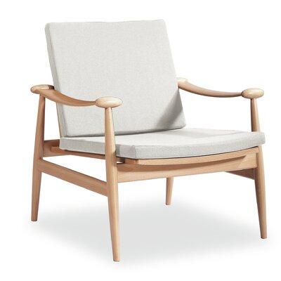 Angel Cerda Solid Beech Wood Arm Chair