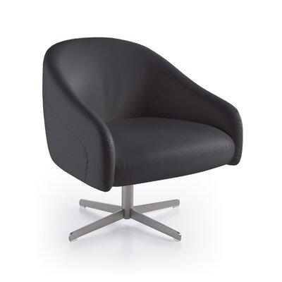 Angel Cerda Upholstered Swivel Arm Chair