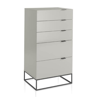 Angel Cerda 5 Drawer Chest of Drawers
