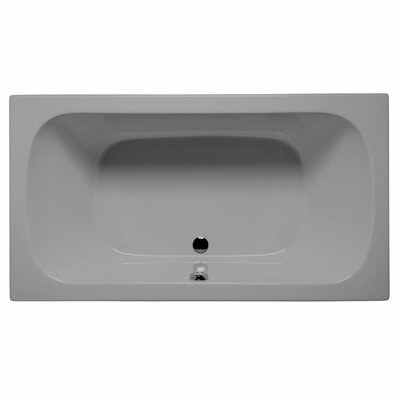 "Jacksonville 72"" x 36"" Air Bathtub Color: Sterling Silver"