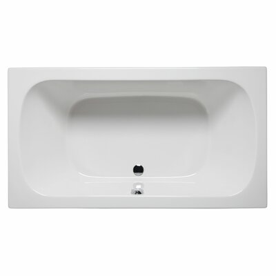 "Jacksonville 72"" x 36"" Whirlpool Color: White"
