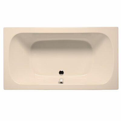 "Jacksonville 72"" x 36"" Whirlpool Color: Almond"