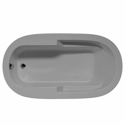 "Marco 72"" x 36"" Whirlpool and Air Jet Bathtub Color: Sterling Silver"
