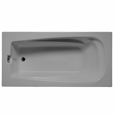 "Fairfield 60"" x 32"" Soaking Bathtub Color: Sterling Silver"