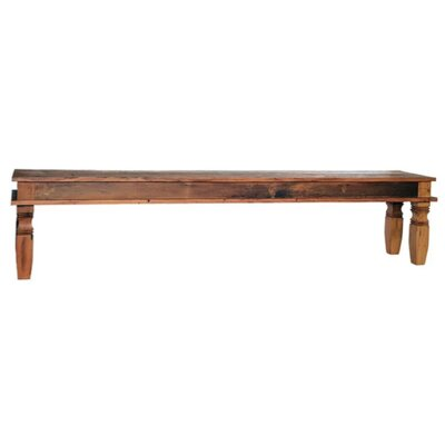 Minas Reclaimed Wood Bench