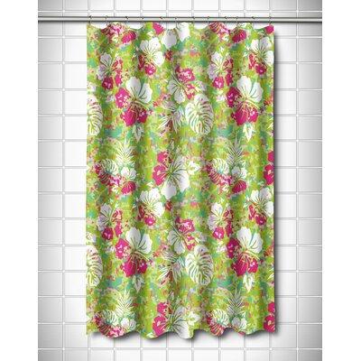 Tropical Key West Tropical Shower Curtain