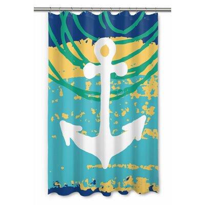 Bimini Anchor Shower Curtain