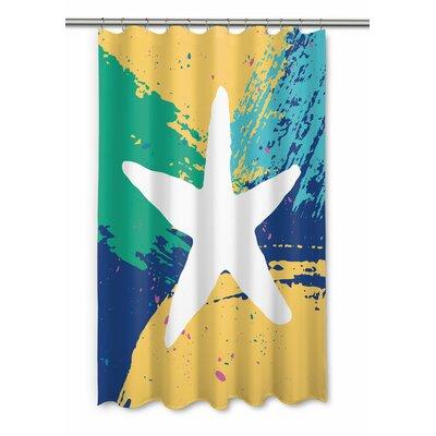Bimini Starfish Shower Curtain