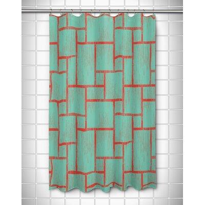 Kroll Tiki Shower Curtain