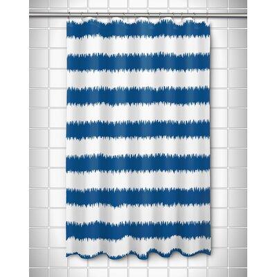 Kromer Rumors Shower Curtain Color: Blue