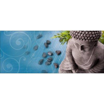 Pro-Art Glasbild Zen Garden I, Kunstdruck