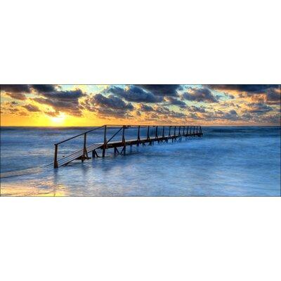 Pro-Art Glasbild Mystic Sea, Kunstdruck