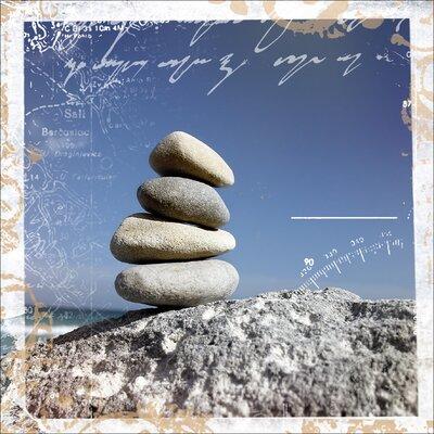 Pro-Art Glasbild Meditation II, Kunstdruck