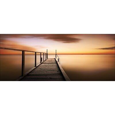 Pro-Art Glasbild Golden Sunset, Kunstdruck