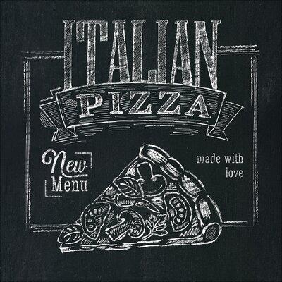 Pro-Art Glasbild Italian Pizza, Kunstdruck