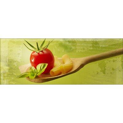 Pro-Art Glasbild Slow Food, Kunstdruck
